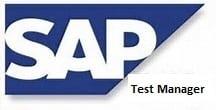 SAP Test Manager