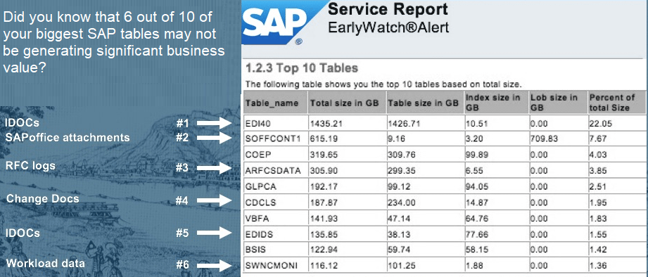 How much of your SAP data is valuable? do you need all of it