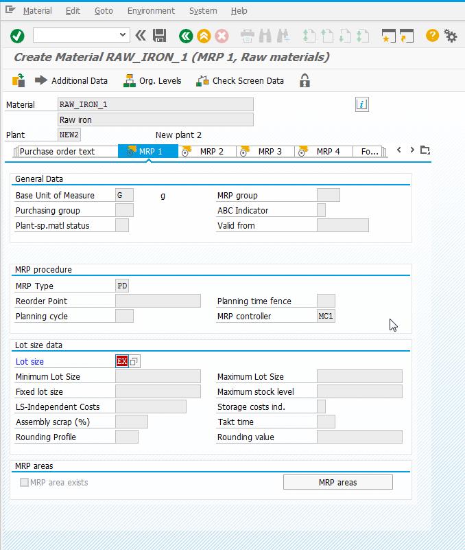 How to create a material in SAP S/4HANA - SAP MM in SAP S/4HANA