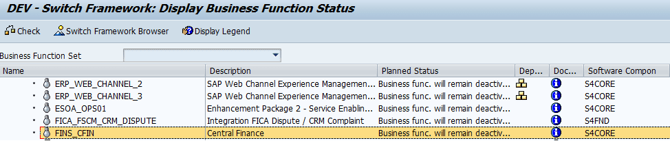 SAP S/4HANA Central Finance (CFIN) – Basic Setup and Configuration