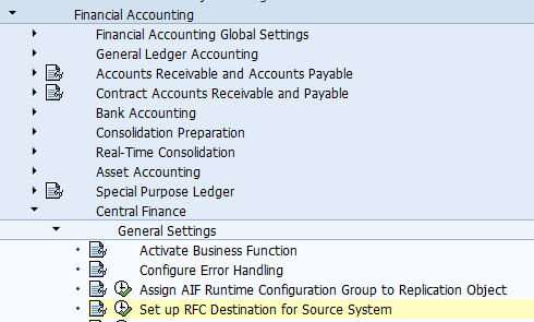SAP S/4HANA Central Finance (CFIN) – Basic Setup and