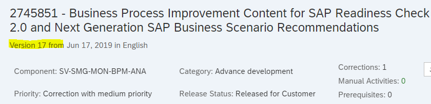 SAP Blog - SAP Readiness Check 2 0 for SAP S/4HANA Conversion - Eursap
