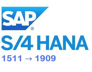 Upgrading S/4HANA 1511 To 1909