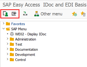 Eursap's SAP Tip Of The Week: Using The EDI Area Menu For All EDI Transactions In One Go
