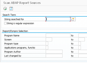 Eursap's SAP Tip Of The Week: Finding A String In All ABAP Programs – A Useful Trick