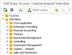 Eursap's SAP Tip Of The Week: Creating Your Own User-friendly SAP Area Menus