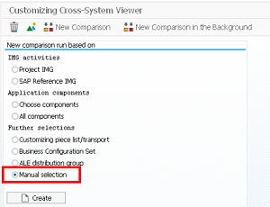 Using The SAP Cross-System Viewer – Compare Two Linked SAP Systems