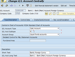 S/4HANA 2020: Bank Accounts